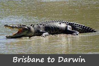 campervan hire Darwin to Perth